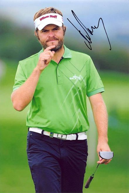 Jose Manuel Lara, Spanish golfer, signed 12x8 inch photo.